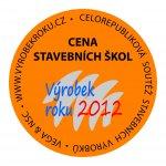 Cena stavebních škol 2012 - medaile