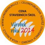 Cena stavebních škol 2014 - medaile